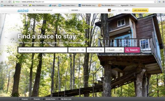 Who wouldn't want to stay in a treehouse!