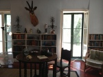 Hemingway's loft where he worked
