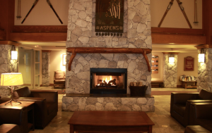 Aspen's lobby